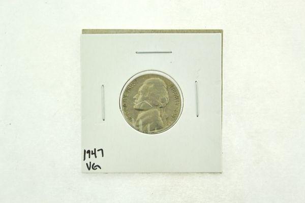 1947 Jefferson Nickel (VG) Very Good N2-3305-1