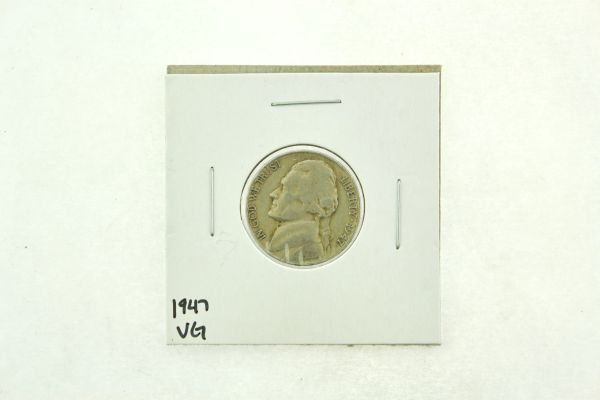1947 Jefferson Nickel (VG) Very Good N2-3305-2