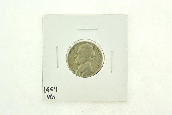 1954 Jefferson Nickel (VG) Very Good N2-3311-1