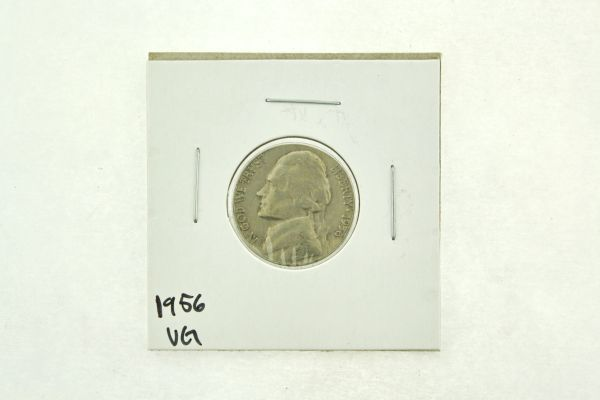 1956 Jefferson Nickel (VG) Very Good N2-3316