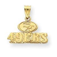 NFL San Francisco 49ers Charm (JC-001)