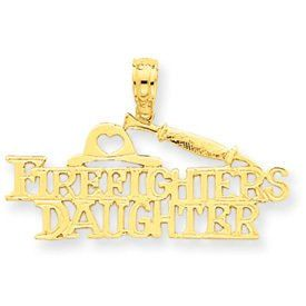 Firefighter's Daughter Pendant (JC-038)