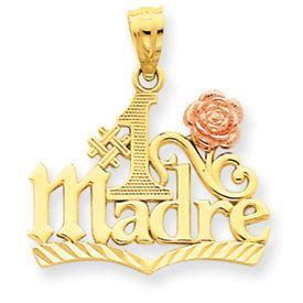 Number 1 Madre Pendant (JC-043)