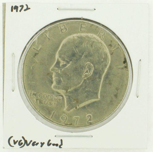 1972 Eisenhower Dollar RATING: (VG) Very Good N2-3421-01