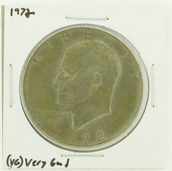 1972 Eisenhower Dollar RATING: (VG) Very Good N2-3421-02