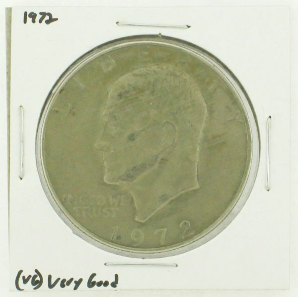 1972 Eisenhower Dollar RATING: (VG) Very Good N2-3421-04