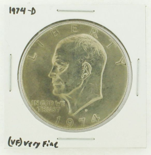 1974-D Eisenhower Dollar RATING: (VF) Very Fine N2-3468-02