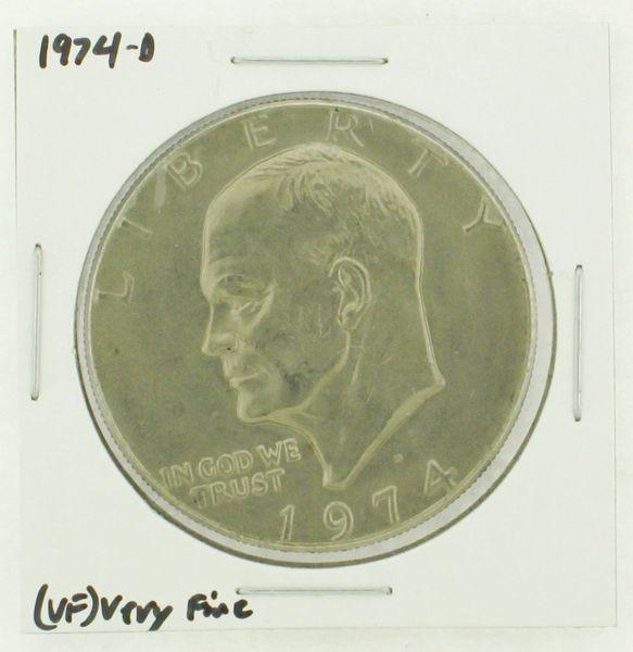 1974-D Eisenhower Dollar RATING: (VF) Very Fine N2-3468-03