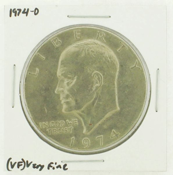 1974-D Eisenhower Dollar RATING: (VF) Very Fine N2-3468-04