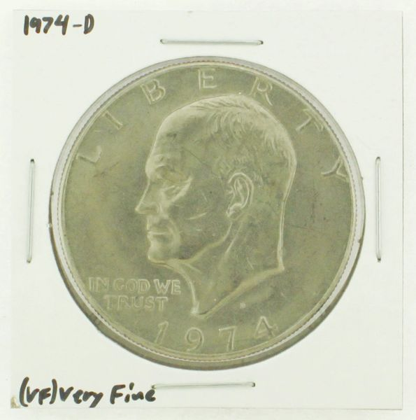 1974-D Eisenhower Dollar RATING: (VF) Very Fine N2-3468-05