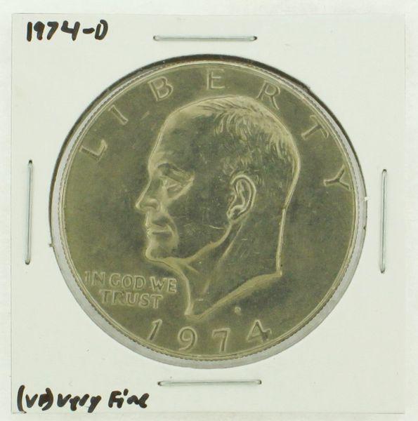 1974-D Eisenhower Dollar RATING: (VF) Very Fine N2-3468-06