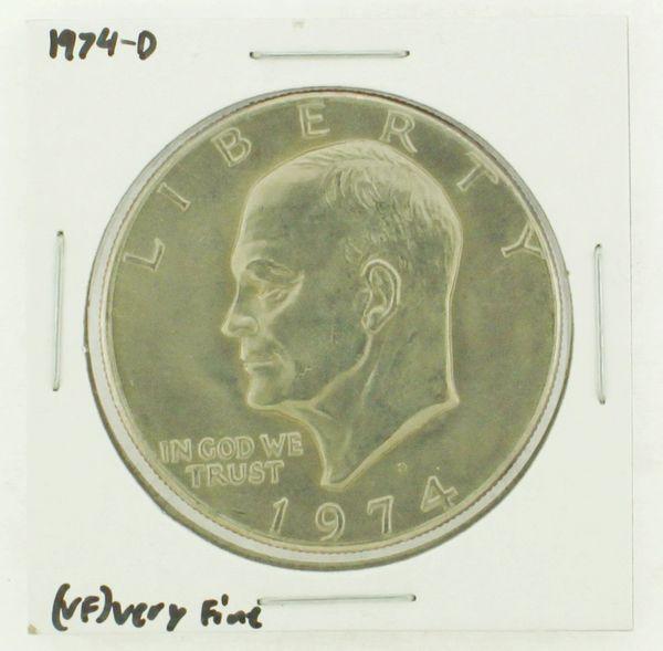 1974-D Eisenhower Dollar RATING: (VF) Very Fine N2-3468-07
