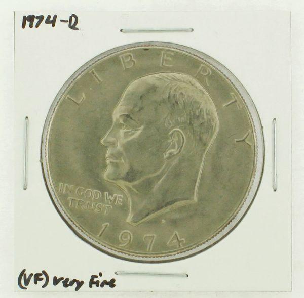 1974-D Eisenhower Dollar RATING: (VF) Very Fine N2-3468-08