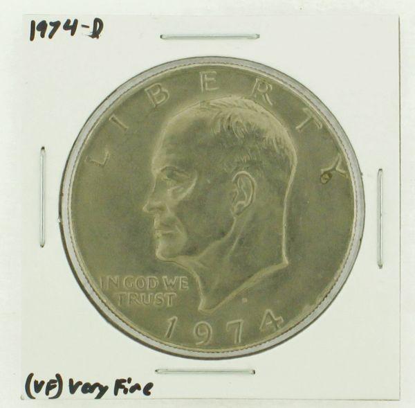 1974-D Eisenhower Dollar RATING: (VF) Very Fine N2-3468-09