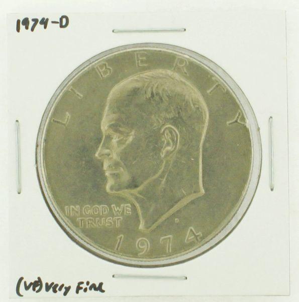 1974-D Eisenhower Dollar RATING: (VF) Very Fine N2-3468-10
