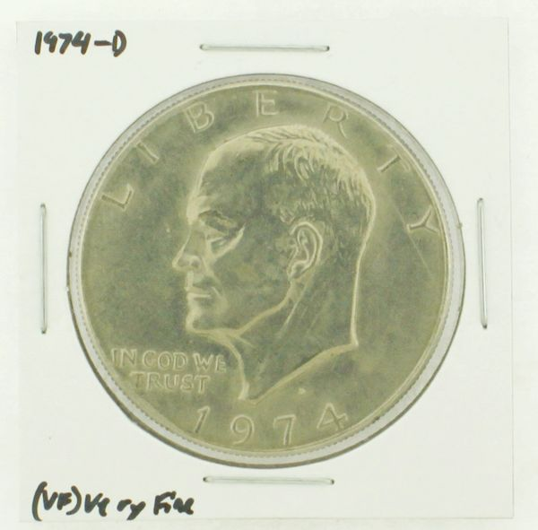 1974-D Eisenhower Dollar RATING: (VF) Very Fine N2-3468-11