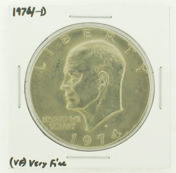 1974-D Eisenhower Dollar RATING: (VF) Very Fine N2-3468-12
