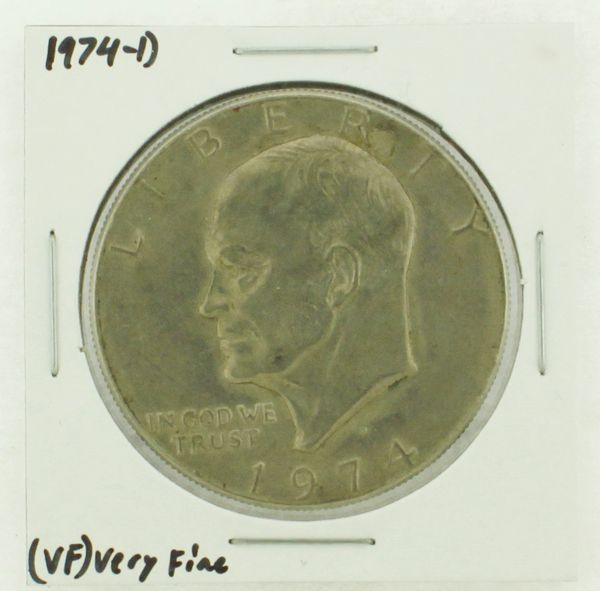 1974-D Eisenhower Dollar RATING: (VF) Very Fine N2-3468-15