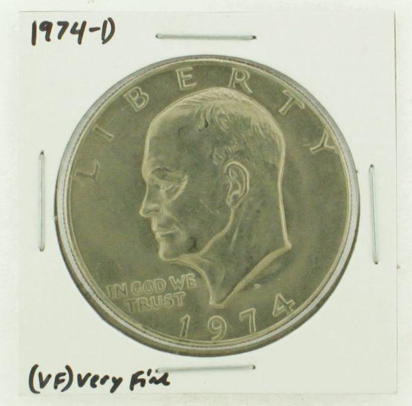 1974-D Eisenhower Dollar RATING: (VF) Very Fine N2-3468-17