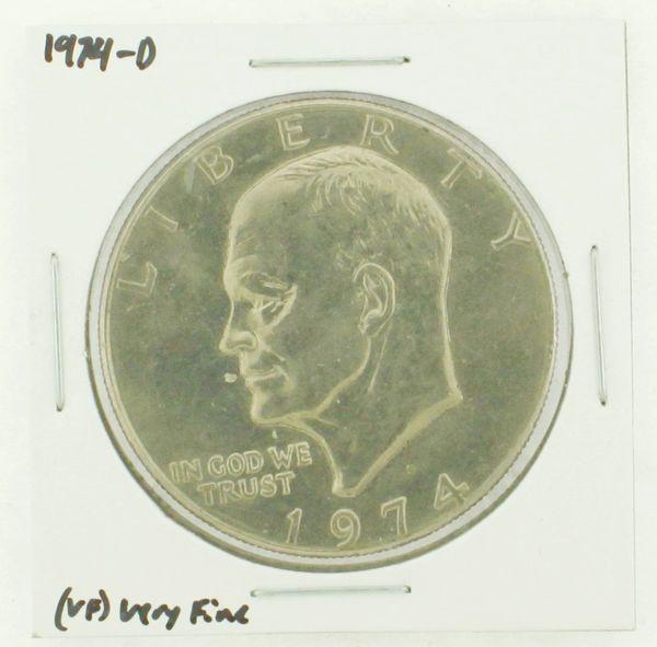 1974-D Eisenhower Dollar RATING: (VF) Very Fine N2-3468-18