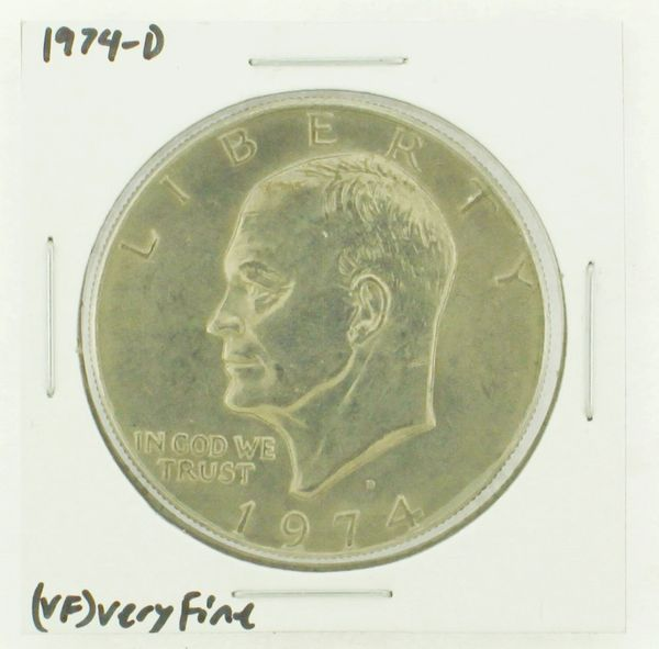 1974-D Eisenhower Dollar RATING: (VF) Very Fine N2-3468-19