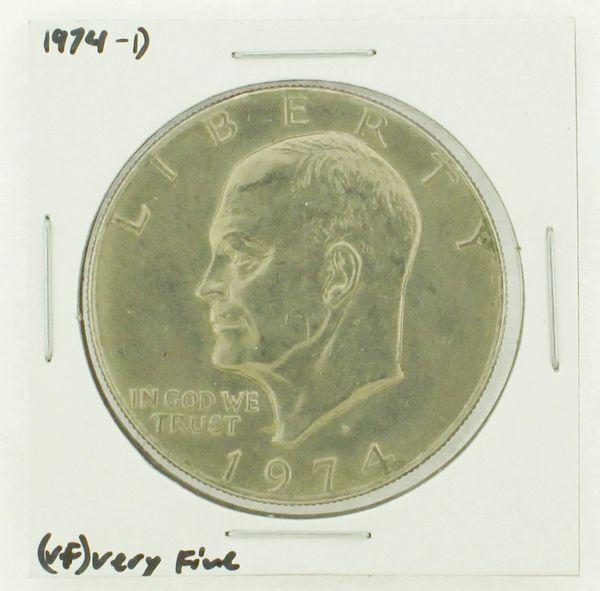 1974-D Eisenhower Dollar RATING: (VF) Very Fine N2-3468-20