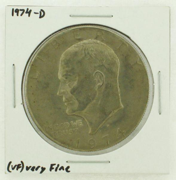 1974-D Eisenhower Dollar RATING: (VF) Very Fine N2-3468-24