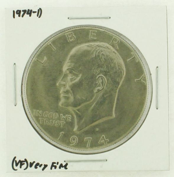 1974-D Eisenhower Dollar RATING: (VF) Very Fine N2-3468-26