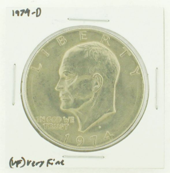 1974-D Eisenhower Dollar RATING: (VF) Very Fine N2-3468-28