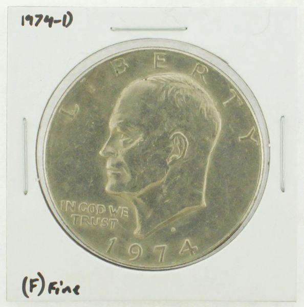 1974-D Eisenhower Dollar RATING: (F) Fine N2-3643-01