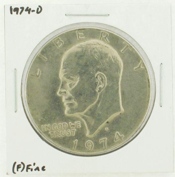 1974-D Eisenhower Dollar RATING: (F) Fine N2-3643-02