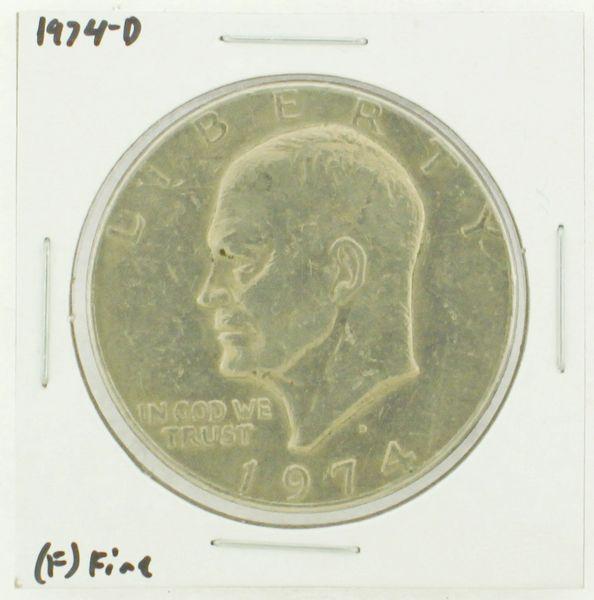 1974-D Eisenhower Dollar RATING: (F) Fine N2-3643-04