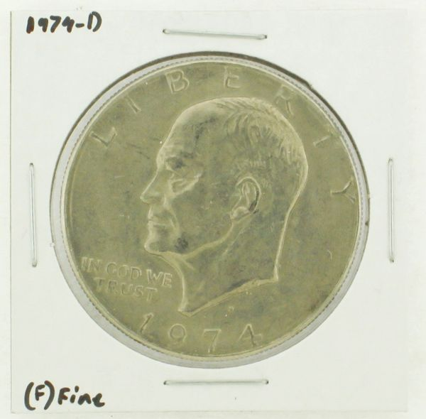 1974-D Eisenhower Dollar RATING: (F) Fine N2-3643-05