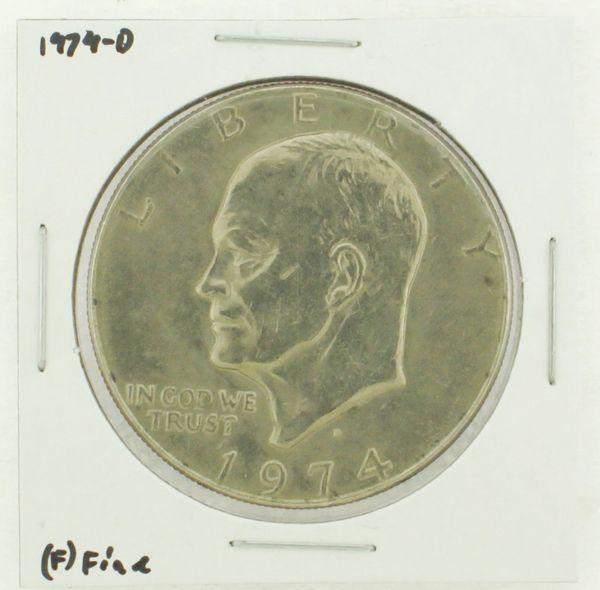 1974-D Eisenhower Dollar RATING: (F) Fine N2-3643-06