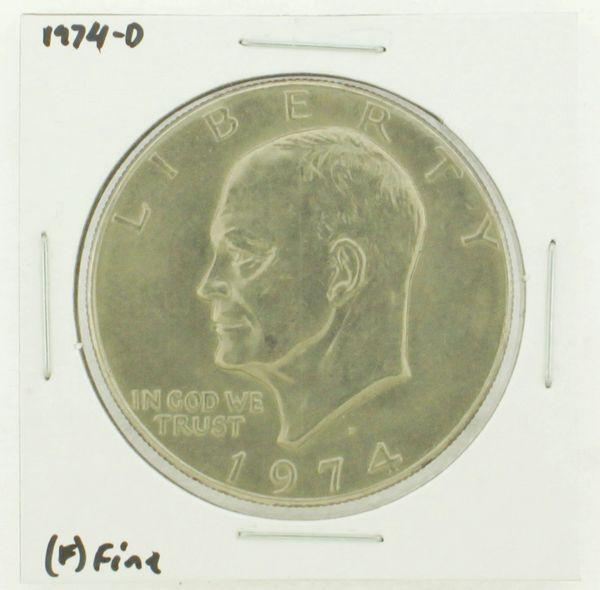 1974-D Eisenhower Dollar RATING: (F) Fine N2-3643-11