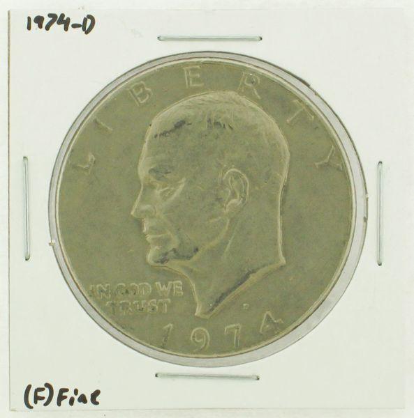 1974-D Eisenhower Dollar RATING: (F) Fine N2-3643-15