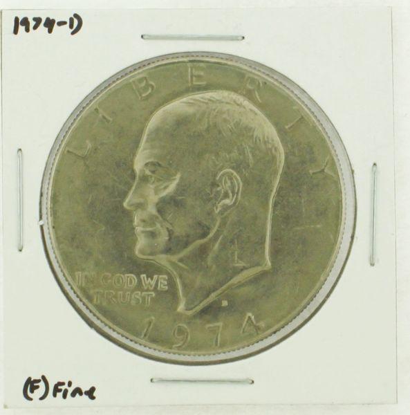 1974-D Eisenhower Dollar RATING: (F) Fine N2-3643-16