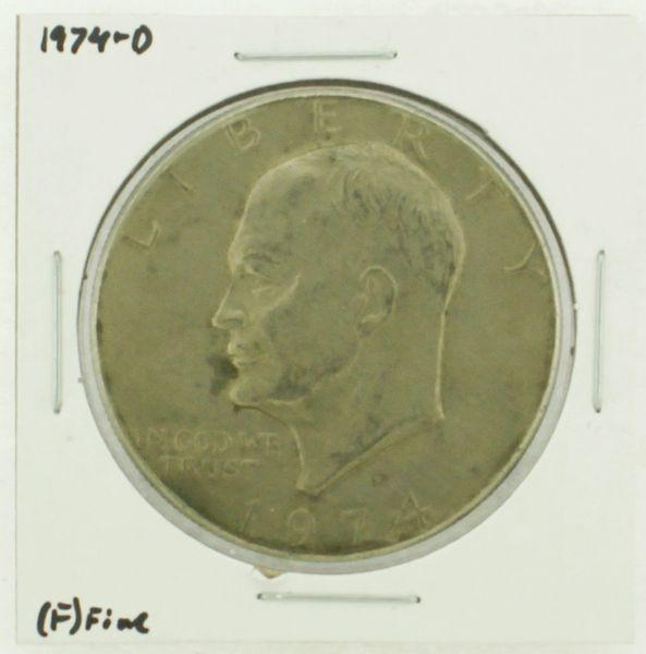 1974-D Eisenhower Dollar RATING: (F) Fine N2-3643-17