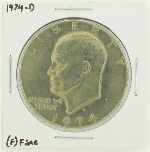 1974-D Eisenhower Dollar RATING: (F) Fine N2-3643-18