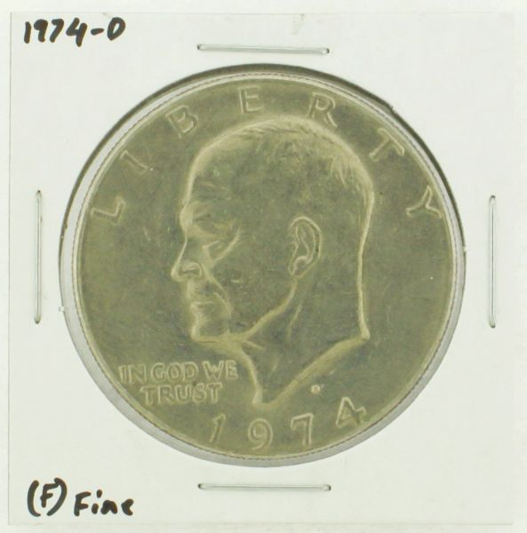 1974-D Eisenhower Dollar RATING: (F) Fine N2-3643-19