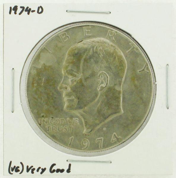 1974-D Eisenhower Dollar RATING: (VG) Very Good N2-3744-03