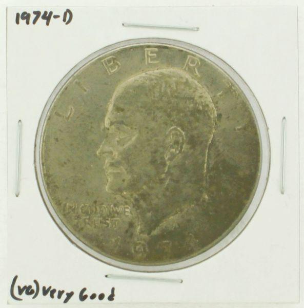 1974-D Eisenhower Dollar RATING: (VG) Very Good N2-3744-06