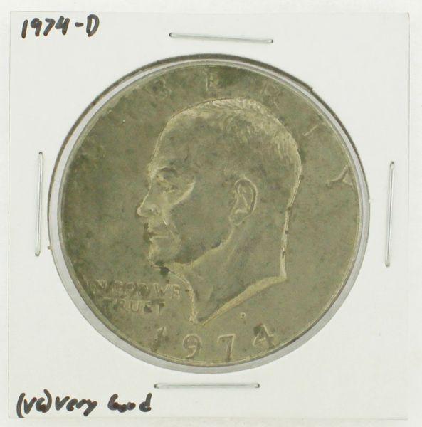 1974-D Eisenhower Dollar RATING: (VG) Very Good N2-3744-09