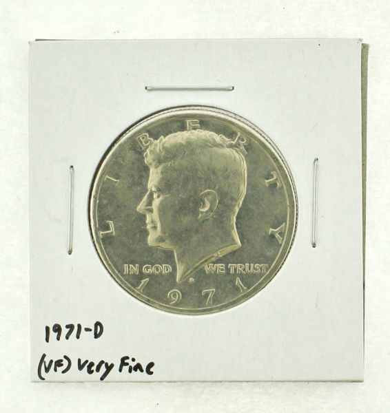 1971-D Kennedy Half Dollar (VF) Very Fine N2-3450-2