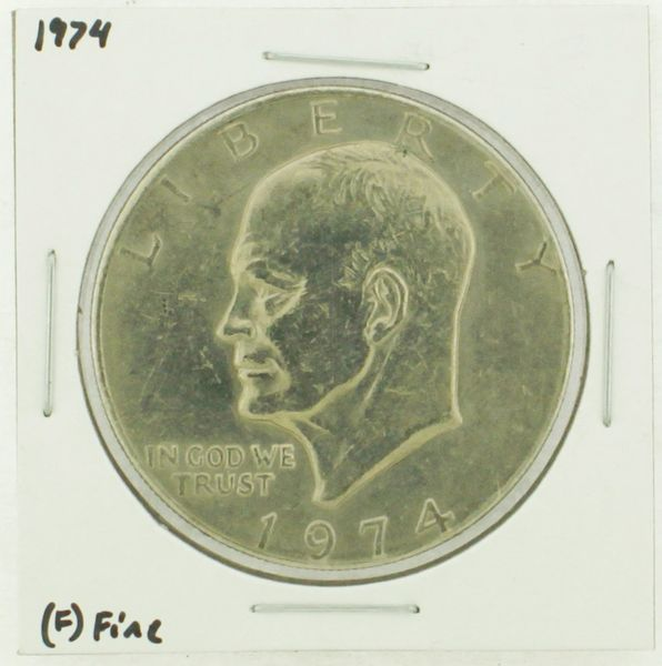 1974 Eisenhower Dollar RATING: (F) Fine (N2-3898-2)