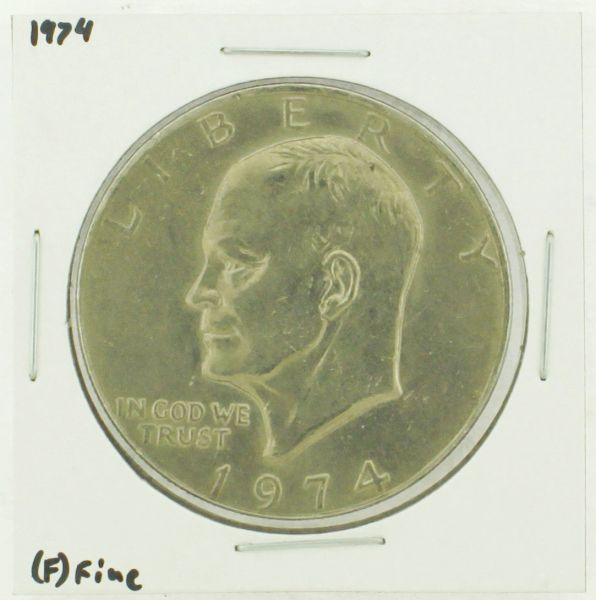 1974 Eisenhower Dollar RATING: (F) Fine (N2-3898-4)