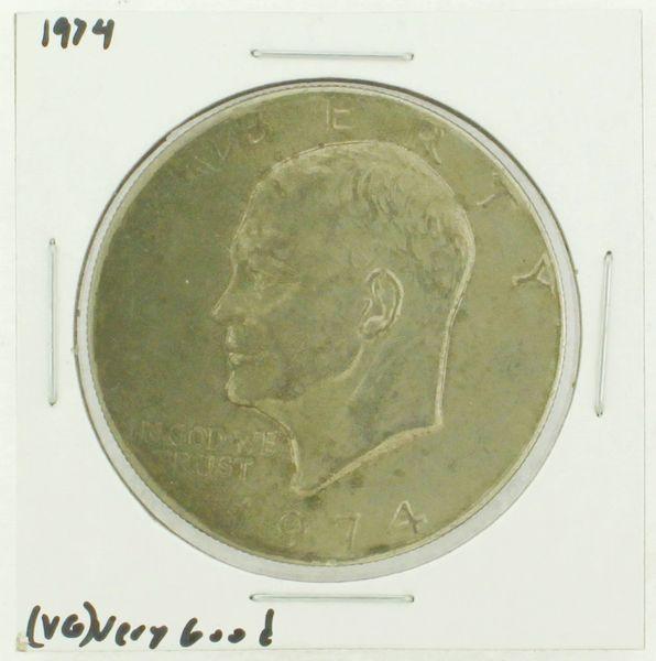1974 Eisenhower Dollar RATING: (VG) Very Good (N2-3904-1)