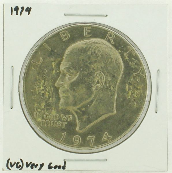 1974 Eisenhower Dollar RATING: (VG) Very Good (N2-3904-2)