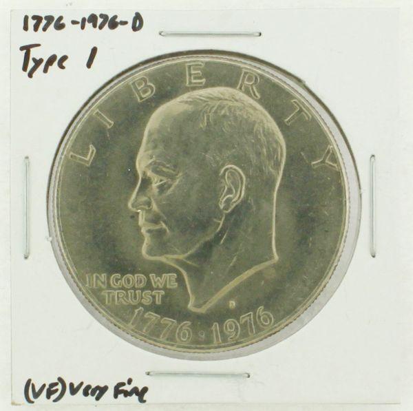 1976-D Type I Eisenhower Dollar RATING: (VF) Very Fine (N2-3934-02)