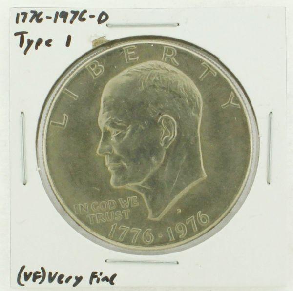 1976-D Type I Eisenhower Dollar RATING: (VF) Very Fine (N2-3934-03)
